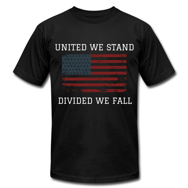 United We Stand, Divided We Fall - black