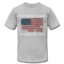United We Stand, Divided We Fall - heather gray