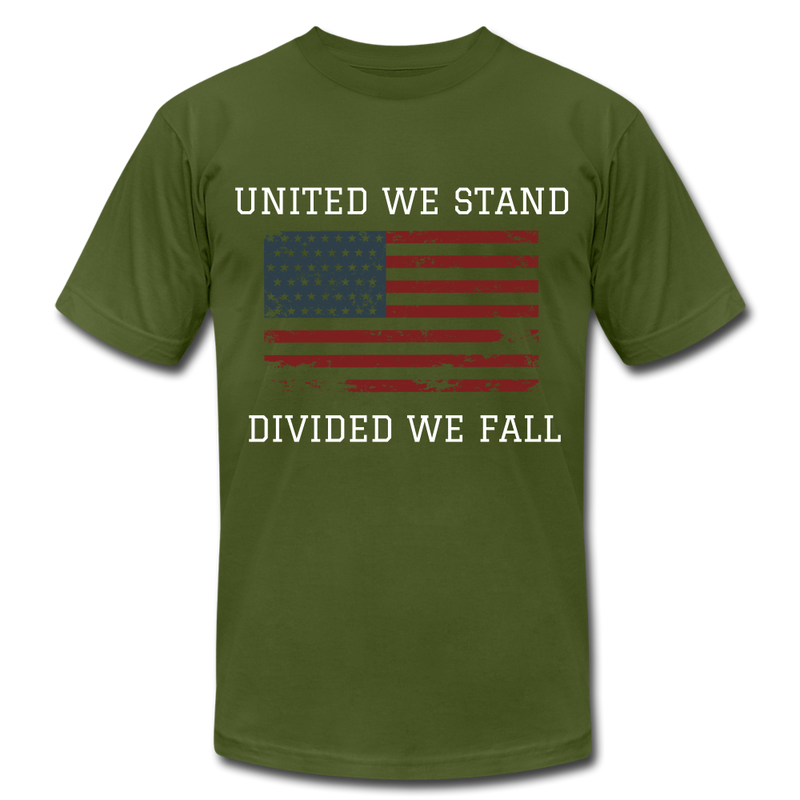United We Stand, Divided We Fall - olive