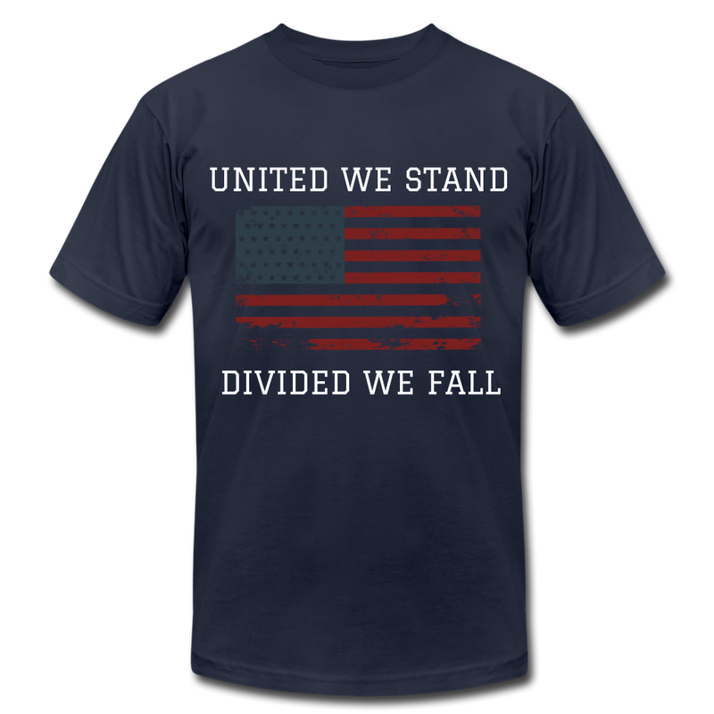 United We Stand, Divided We Fall - navy