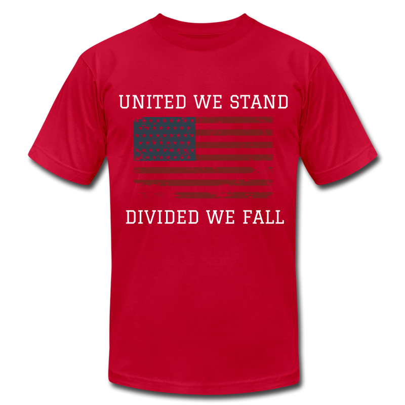 United We Stand, Divided We Fall - red