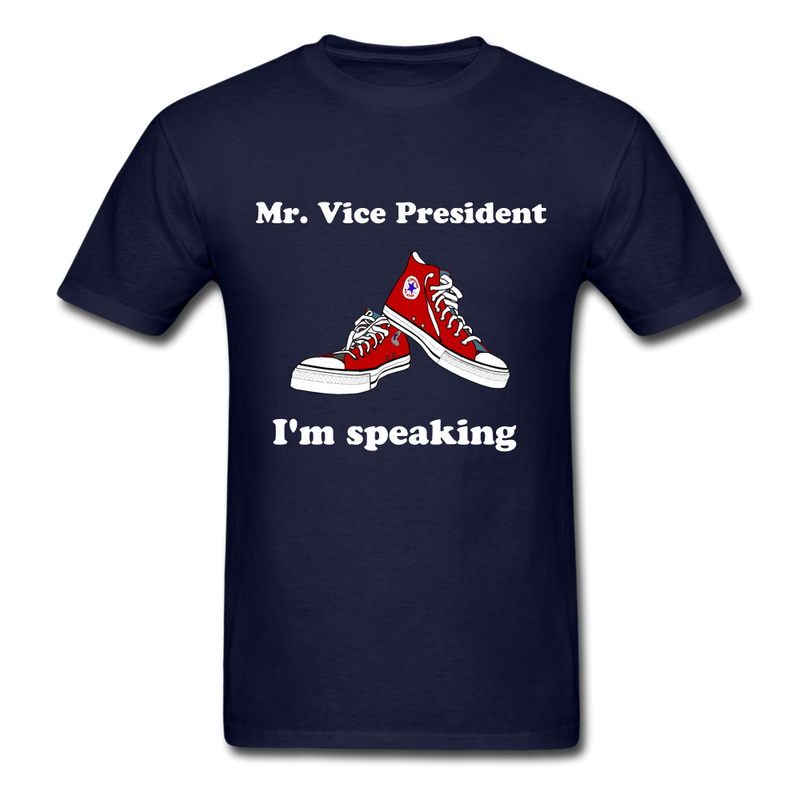 I'm Speaking Mr. Vice President T-Shirt - navy