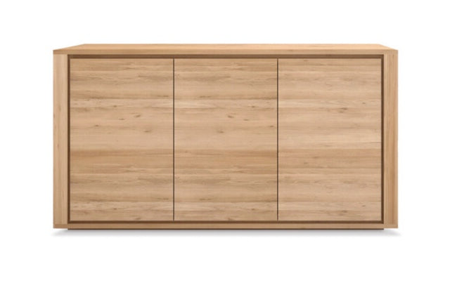 Oak Shadow Sideboard