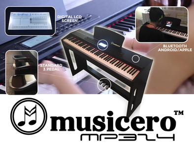 Musicero Piano MP324