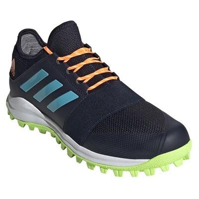 Adidas Divox 1.9S Mens (Legend Ink/Signal Cyan/Orange) - Just Hockey