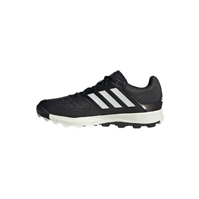 Adidas Flexcloud Mens (Core Blk/Wht/Carbon) - Just Hockey