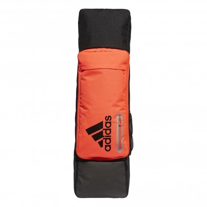 Adidas Stick & Kit Bag Core (Blk/Solar Red) - Just Hockey