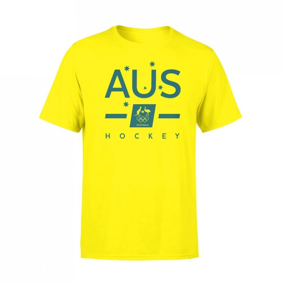 AOC Hockey Gold Tee - Just Hockey