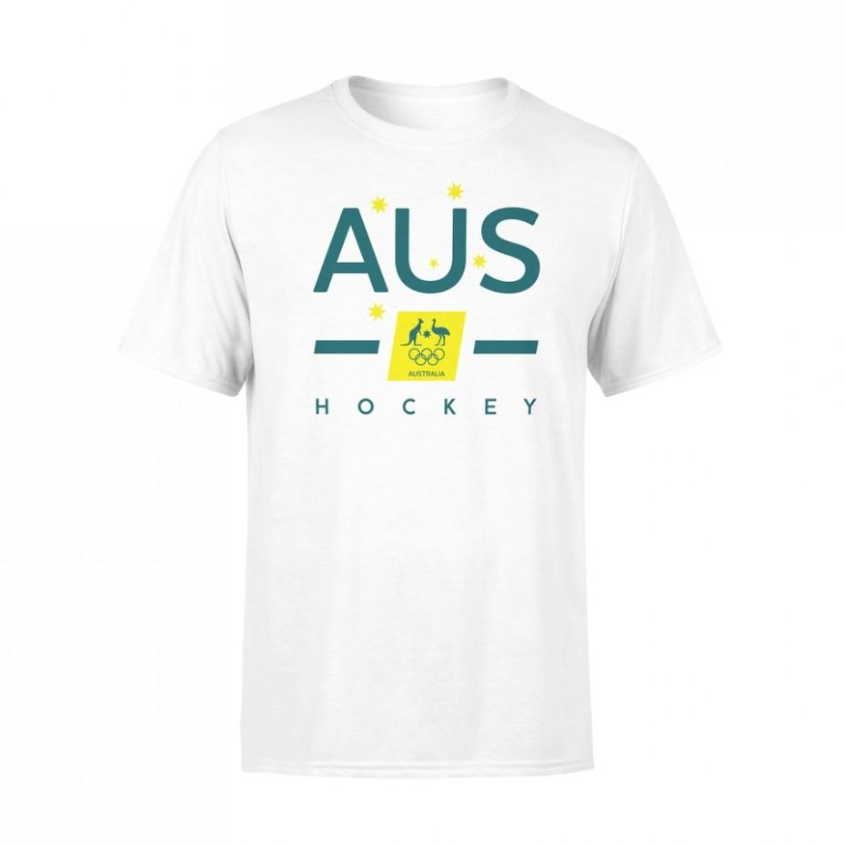 AOC Hockey White Tee Youth - Just Hockey