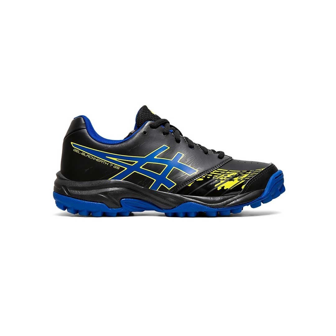 Asics Blackheath 7 Black/Blue (Kids) - Just Hockey
