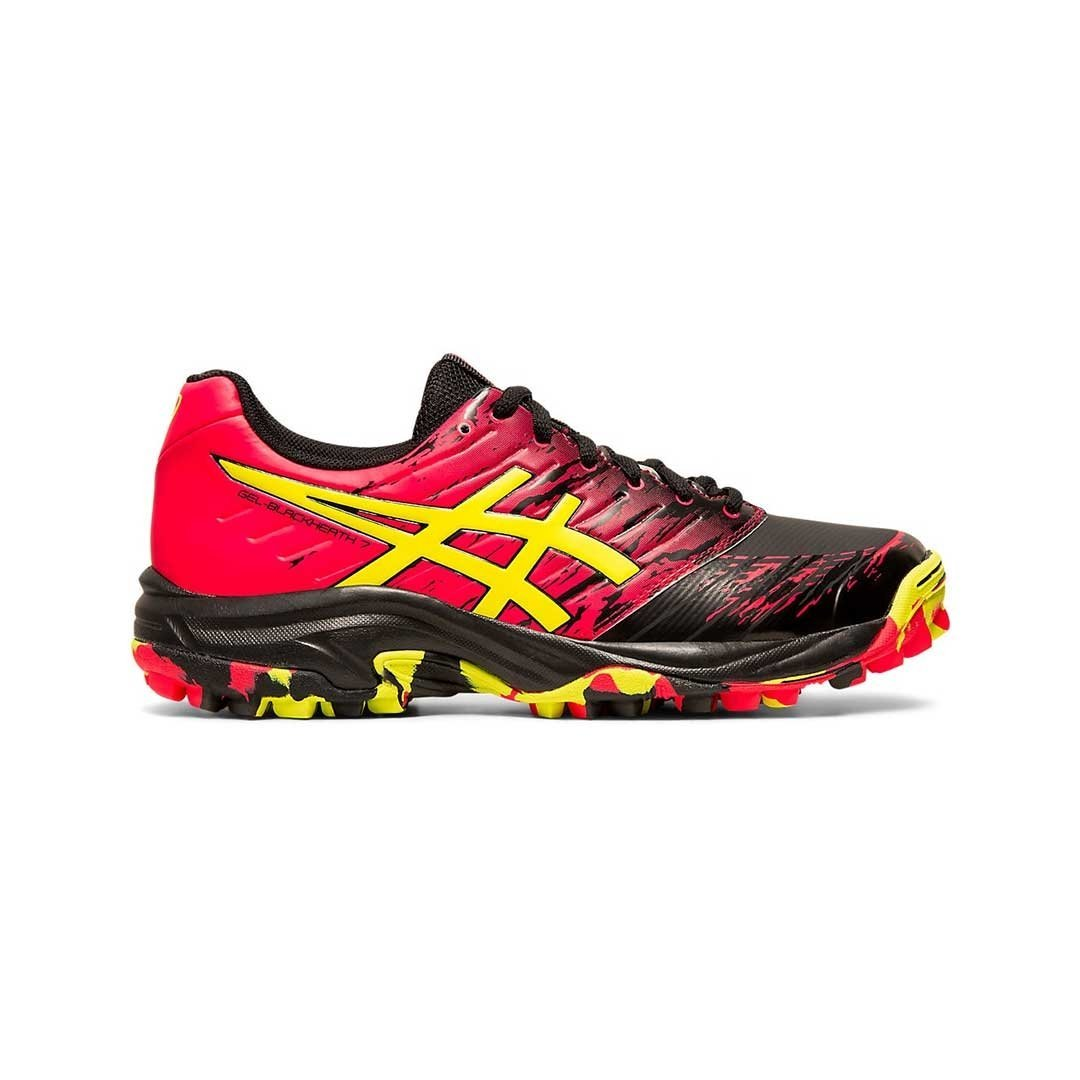 Asics Blackheath 7 Womens (Black/Sour Yuzu) - Just Hockey