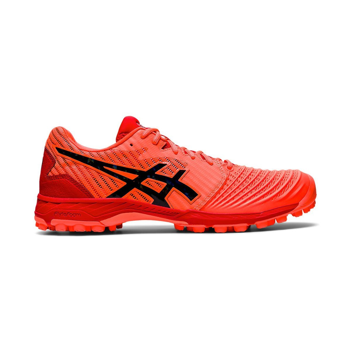 Asics Field Ultimate FF Sunrise Red/Blk (Mens) - Just Hockey