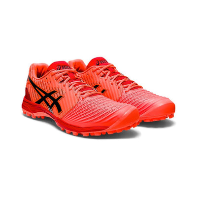 Asics Field Ultimate FF Sunrise Red/Blk (Womens) - Just Hockey