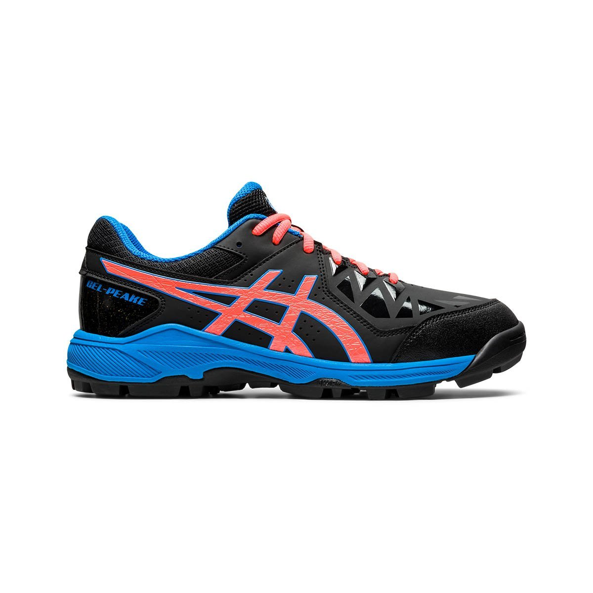 Asics Gel-Peake GS Black/Directoire Blue (Kids) - Just Hockey
