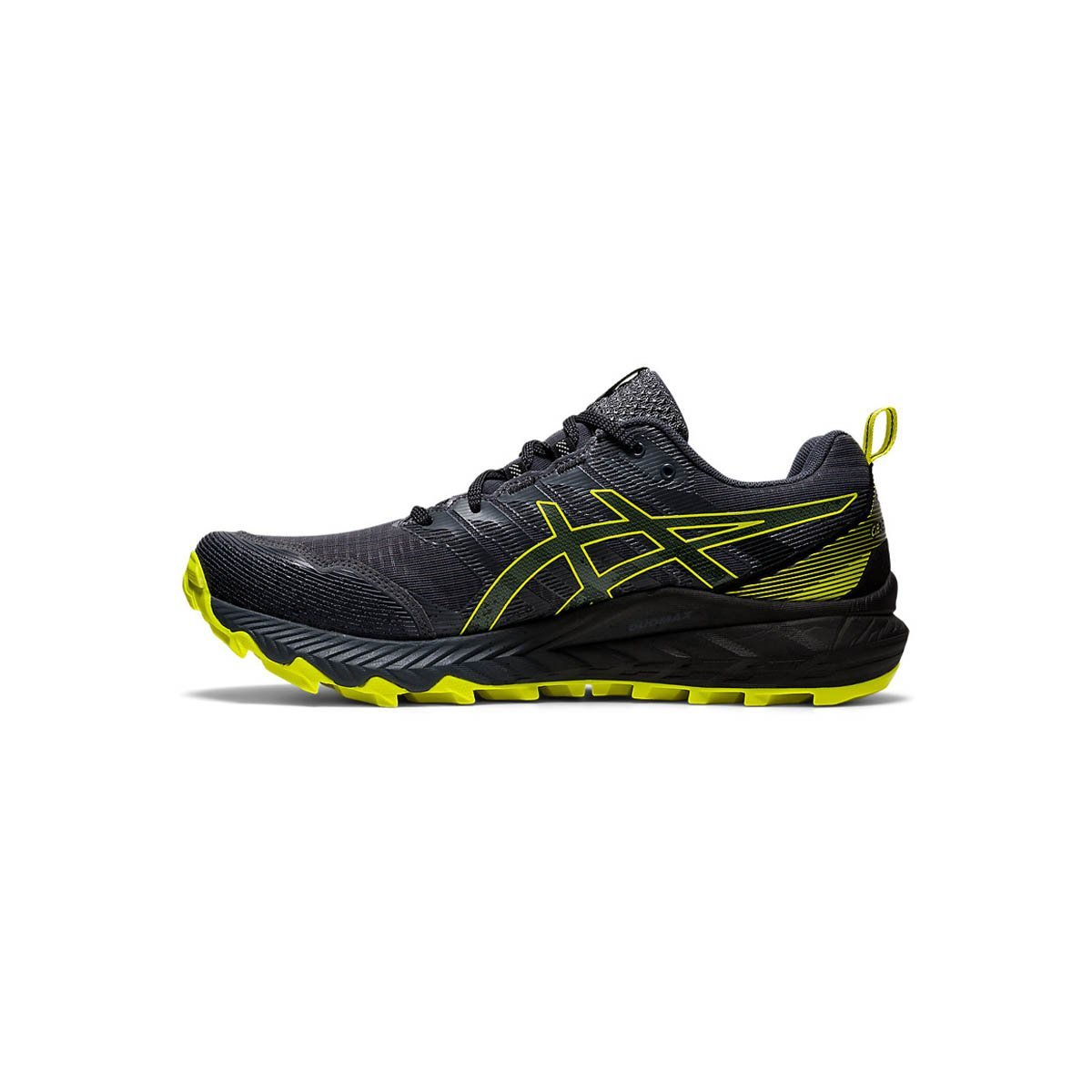 Asics Trabuco 9 Carrier Grey/Sour Yuzu (Mens) - Just Hockey