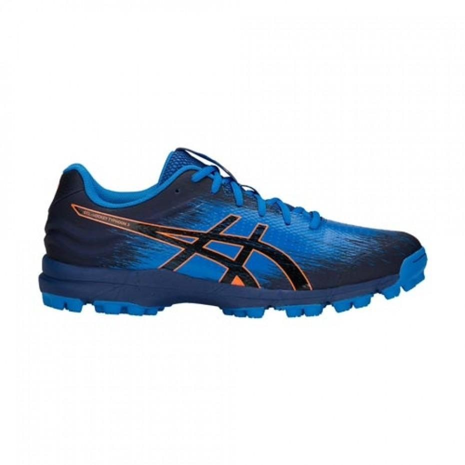 Asics Typhoon 3 Mens (Blue Print/Black) - Just Hockey