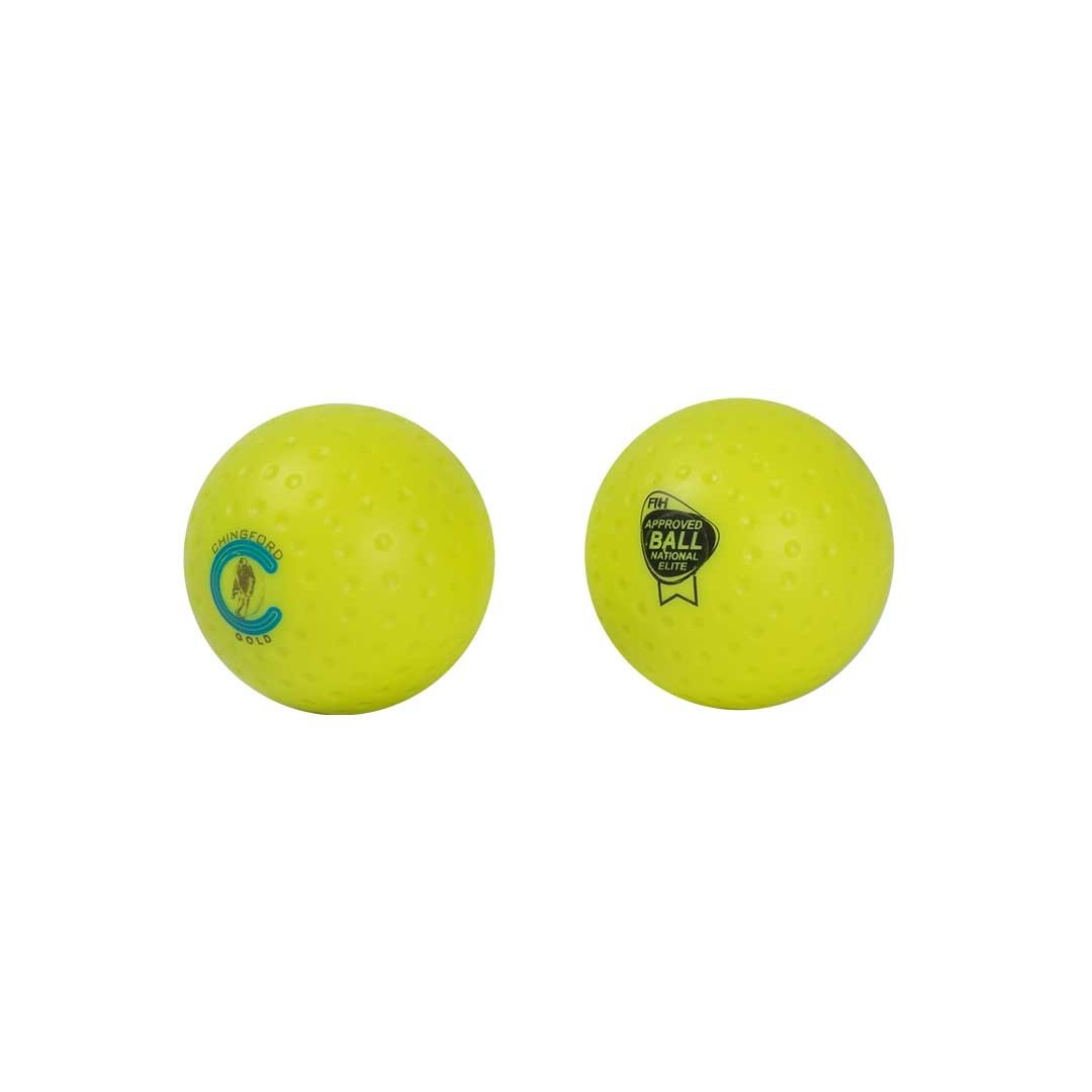 Chingford Gold Dimpled Single Ball (FIH APPROVED) - Just Hockey