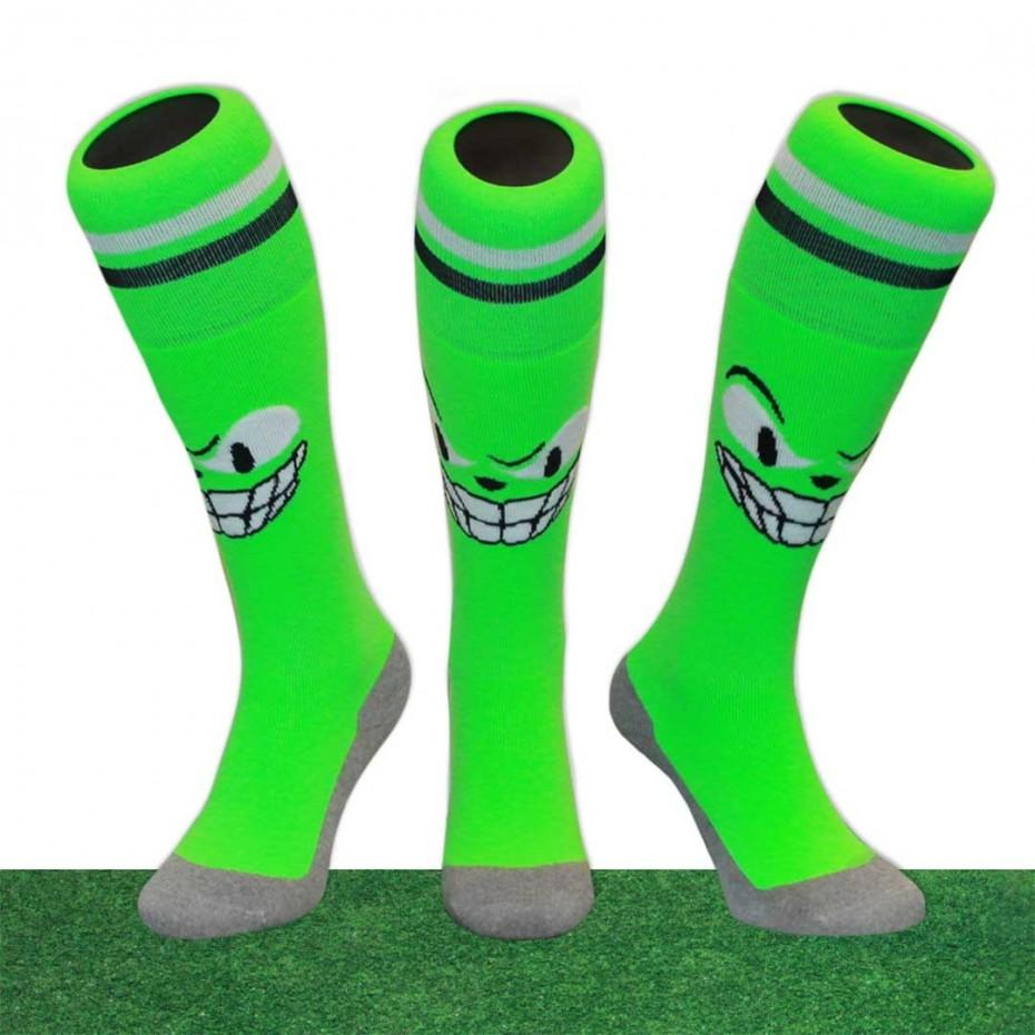 Hingly Fun Socks Monster (Green) - Just Hockey