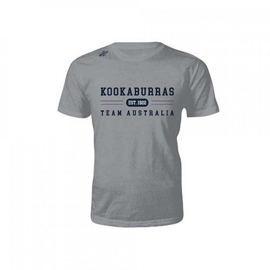 Hockey Aust Kookaburra Tee Mens - Just Hockey