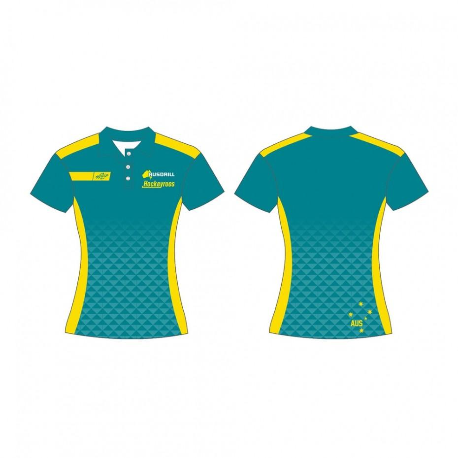 Hockeyroos 19 Replica Team Polo2 - Just Hockey