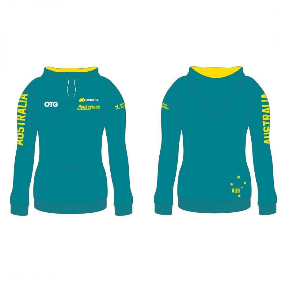 Hockeyroos Replica Hoodie Female - Just Hockey