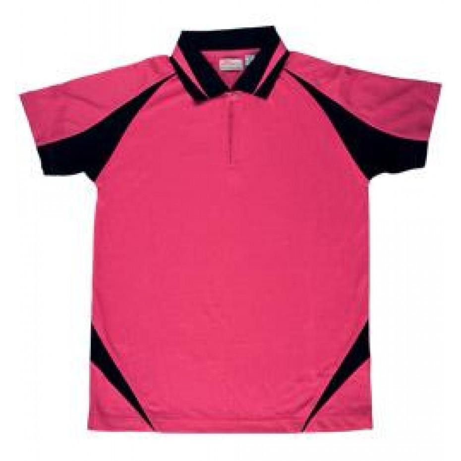 Just Hockey Ladies Umpires Shirt - Hot Pink - Just Hockey