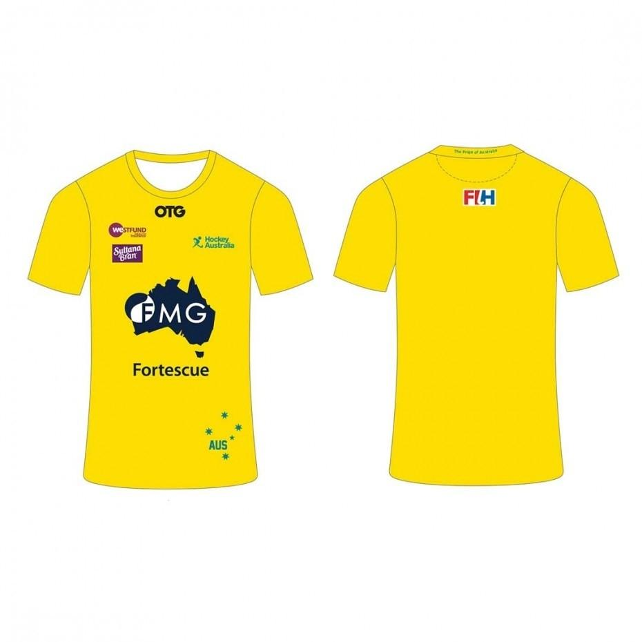 Kookaburras Replica Home Tee Youth - Just Hockey