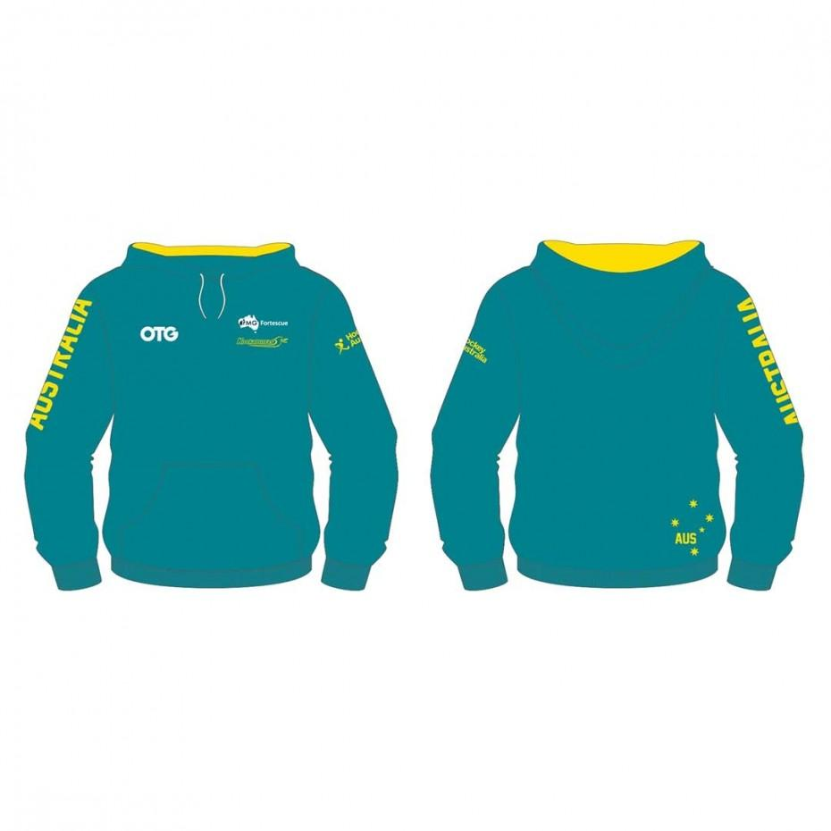 Kookaburras Replica Hoodie Mens - Just Hockey