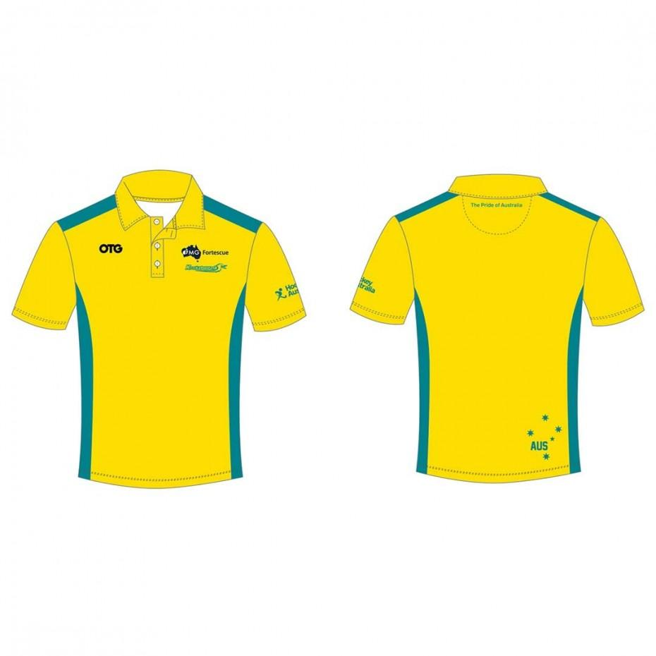 Kookaburras Team Polo 1 Mens - Just Hockey