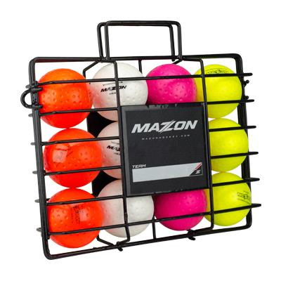 Mazon Ball Cage holds 12 balls - Just Hockey