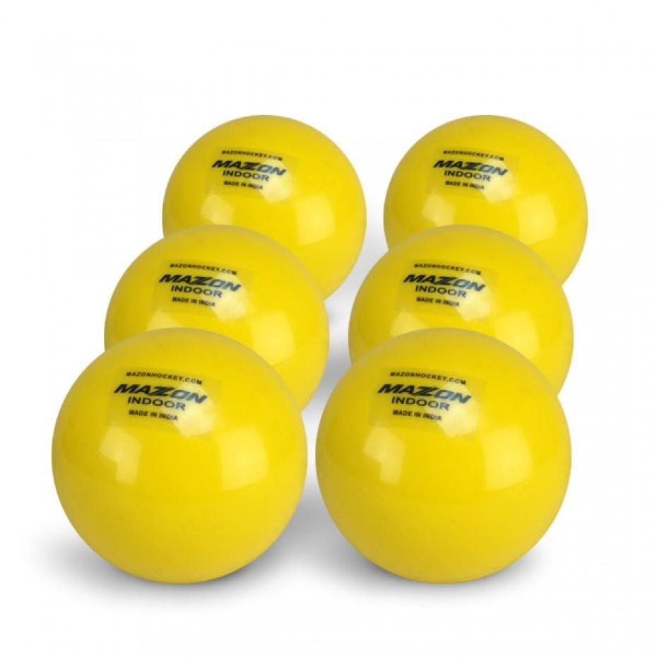 Mazon Indoor Match Ball (6 pack) - Just Hockey