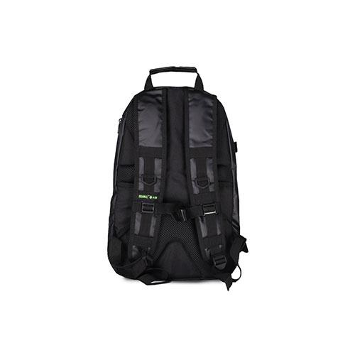Osaka Sports Large Backpack Black/Green (19) - Just Hockey