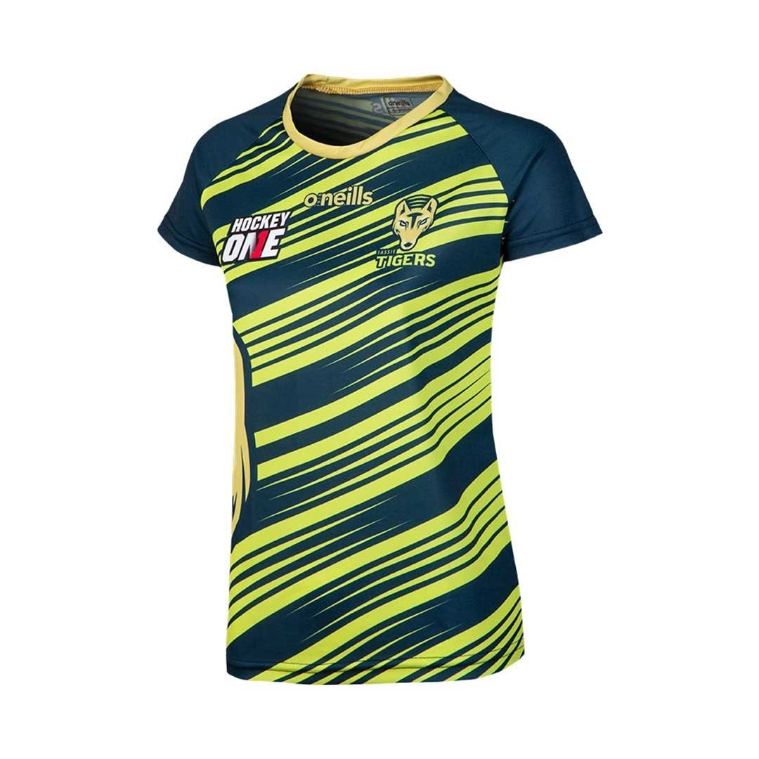 Tassie Tigers Training Tee Ladies - Just Hockey