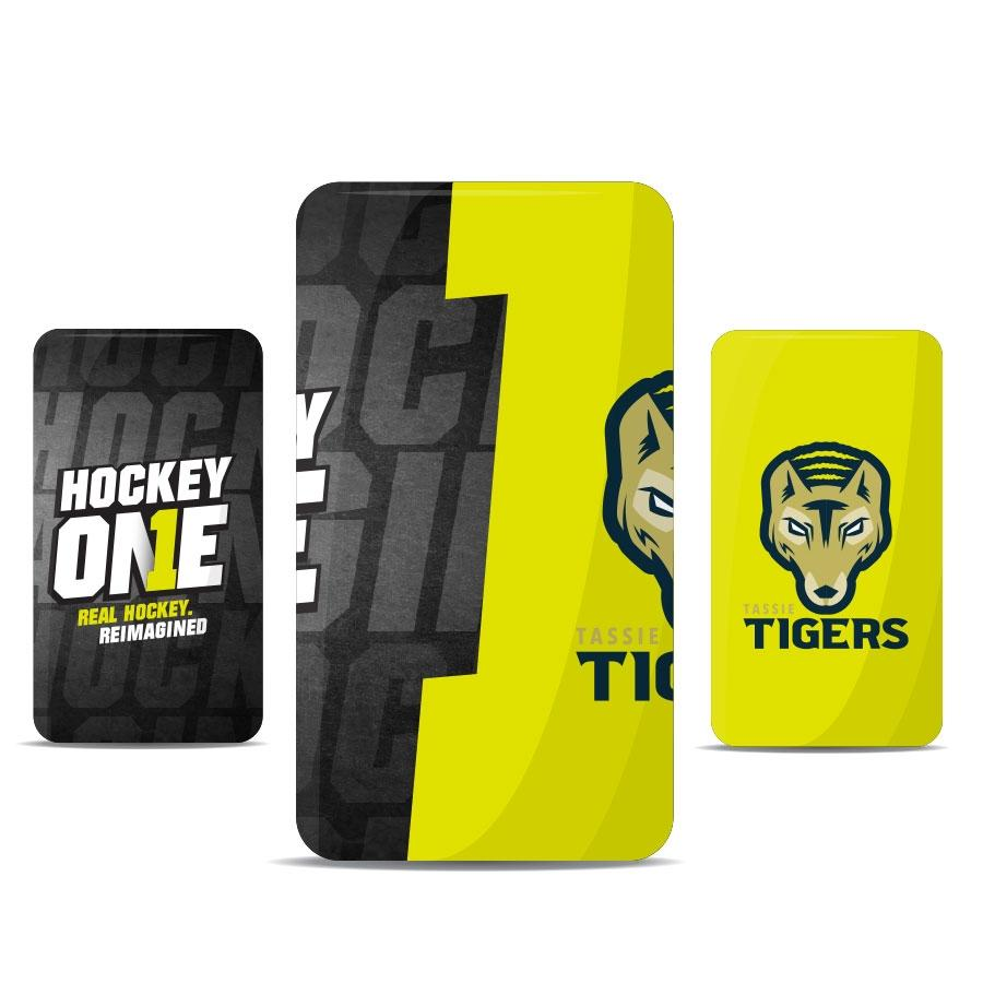 Tassy Tigers Can Cooler - Just Hockey