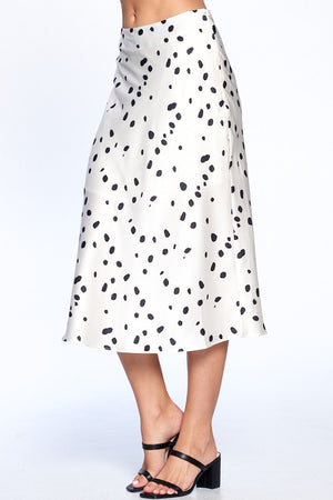 Load image into Gallery viewer, leopard print midi skirt