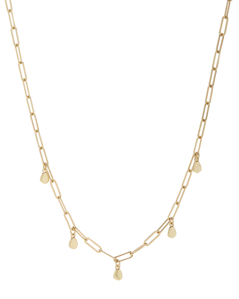 The Golden Nugget Shaker Necklace-Gold