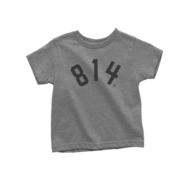 814 Toddler Tee - Heather Grey