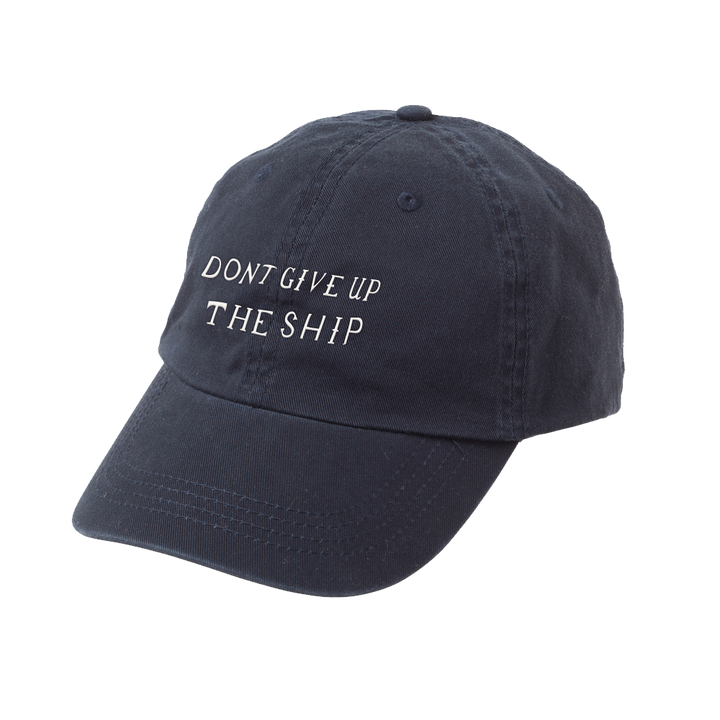 Don't Give Up the Ship Dad Hat - Navy