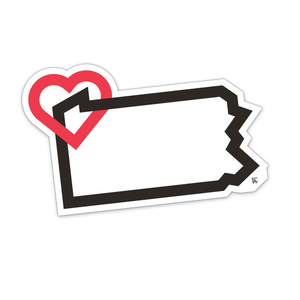 PA Love Sticker