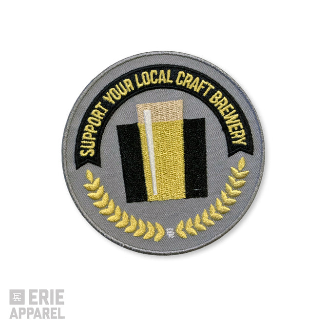 Support Your Local Craft Brewery Large Patch