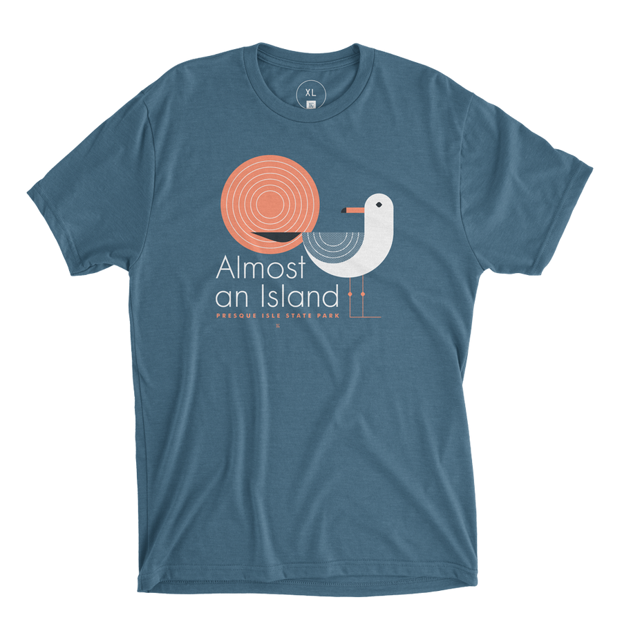 Almost An Island Tee