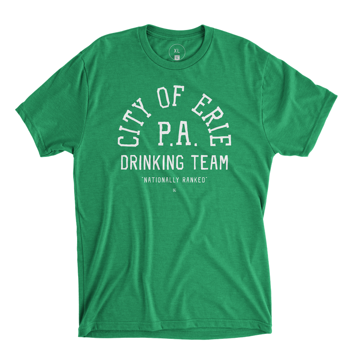City Of Erie Drinking Team - Green