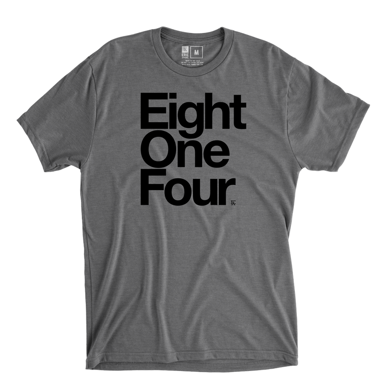 Eight One Four Tee