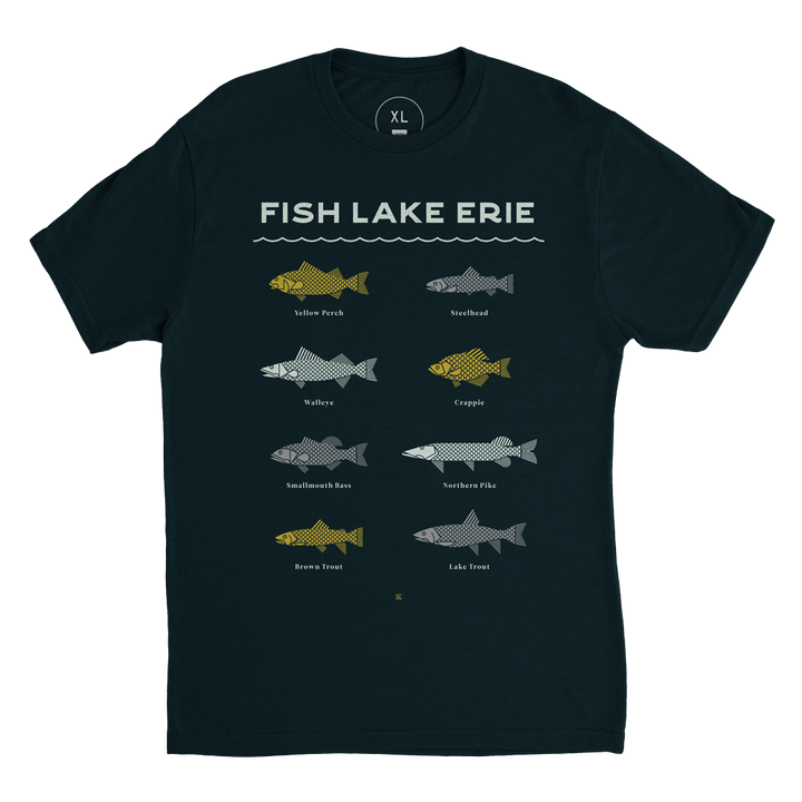 Fish Lake Erie Tee