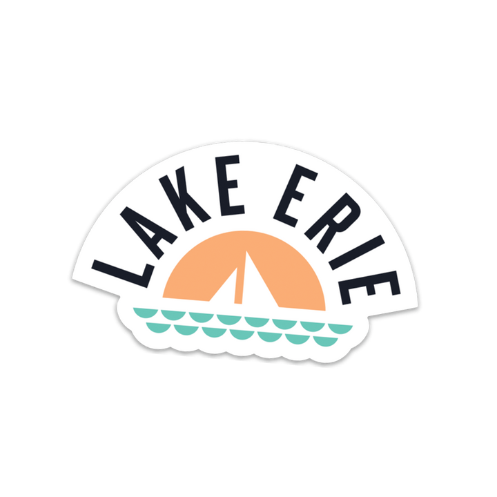 Lake Erie Basic Sticker