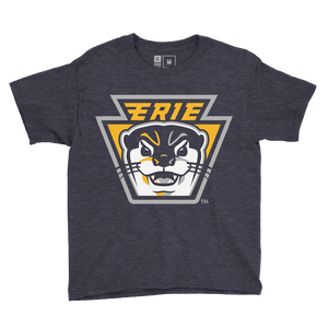 Erie Otters Keystone Logo - Youth Tee