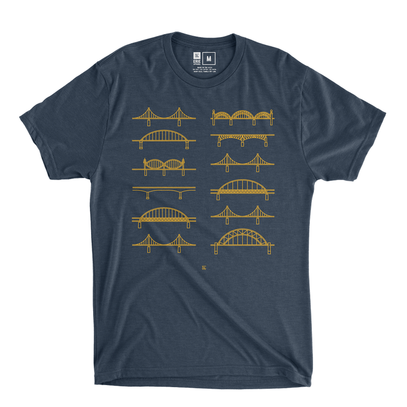 Pittsburgh Bridges Tee