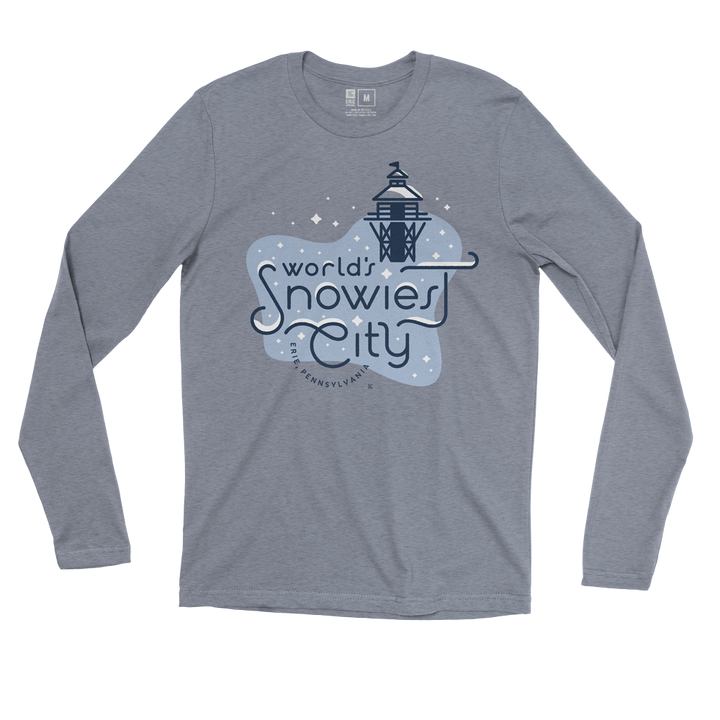 World's Snowiest City Long Sleeve Tee