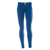 FREDDY WR.UP COLORED DENIM EFFECT SKINNY - Indigo - LIVIFY  - 3