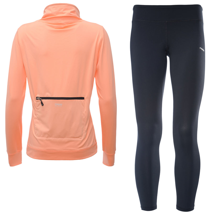 FREDDY POCKET SWEAT + PANT SET- Peach/Black - LIVIFY  - 1